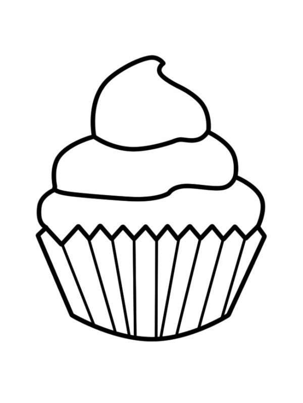 narozeninov dort - omalovnky