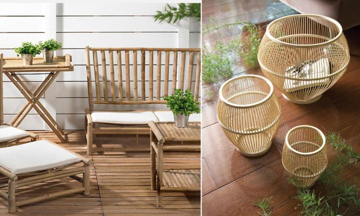 Ideas para decorar con bamb Decoracin del hogar