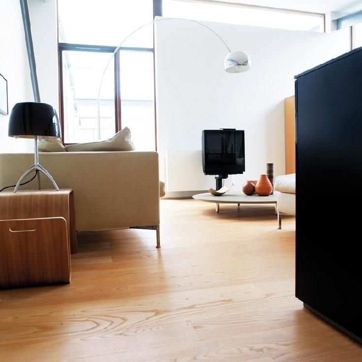 Apartamento loft minimalista en blanco y negro Decoracin