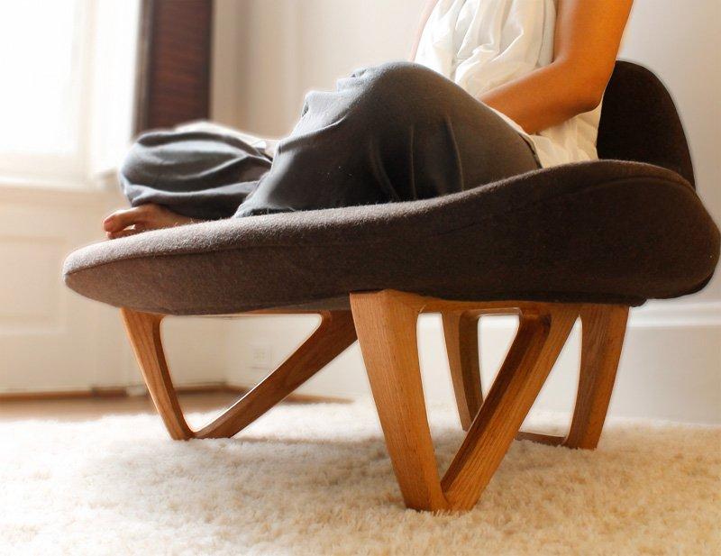 Butaca Om para los amantes del Yoga Decoracin del hogar