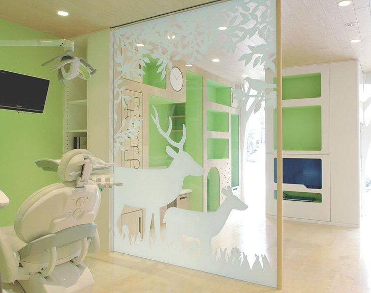 Fotos de la clnica dental ideal para nios Clnica