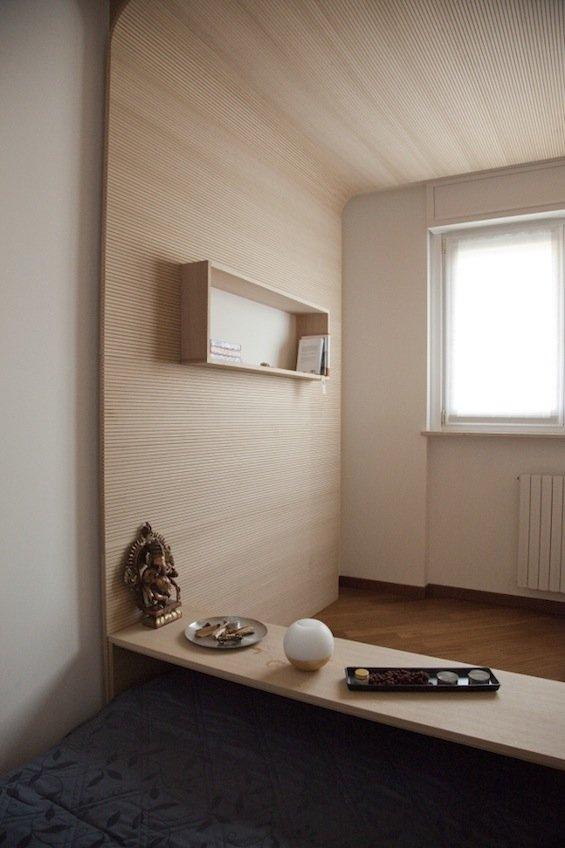 Habitacin para meditacin por Bianco Studio Decoracin