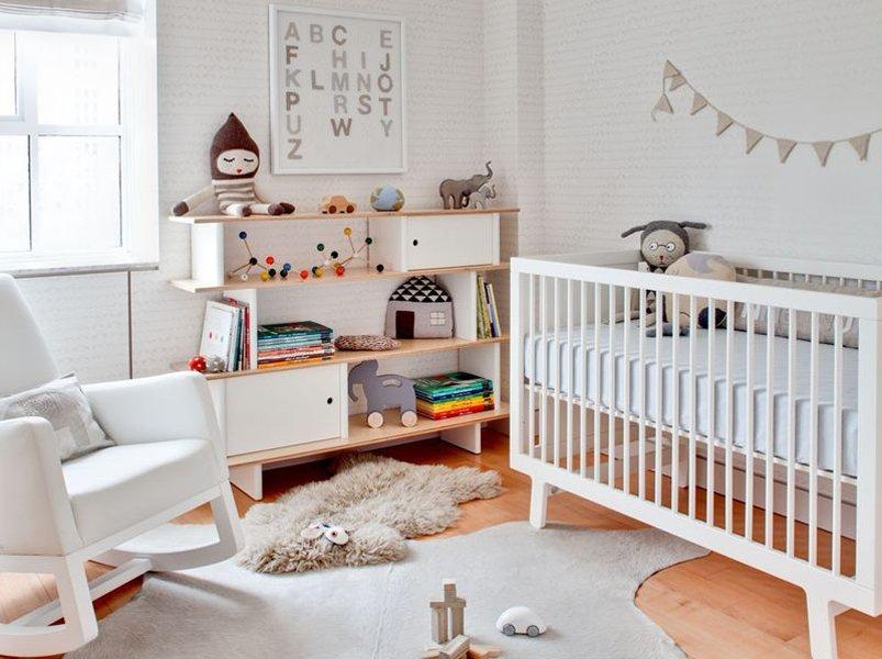 Ideas para una habitacin de beb elegante y dulce