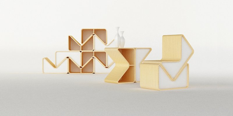 Muebles modulares II Decoracin del hogar