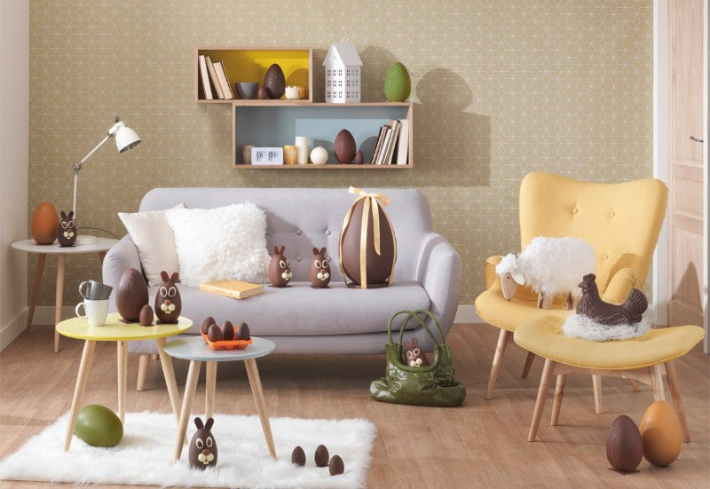 Muebles Maisons du Monde para un interior nrdico