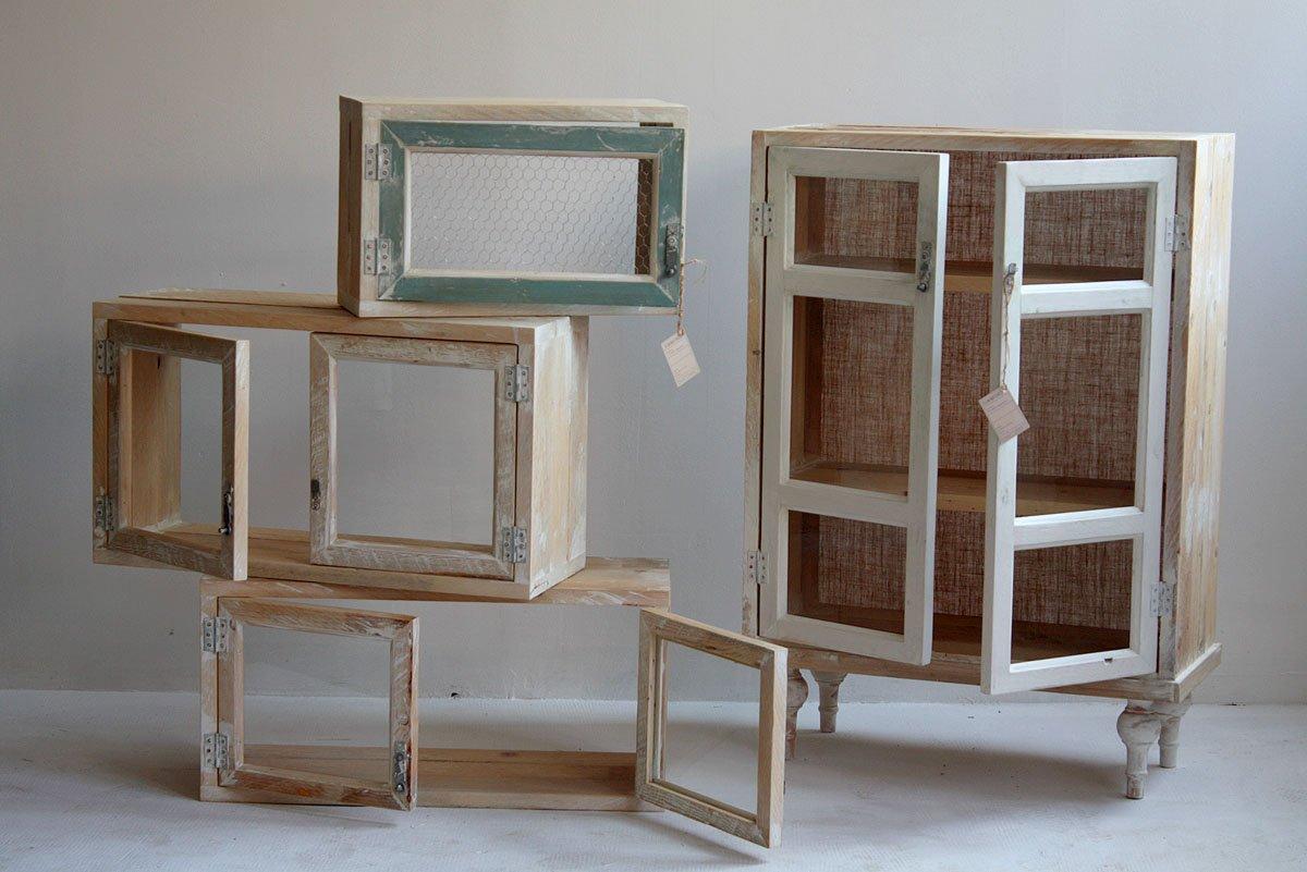 Imgenes de muebles reciclados de Segnomaterico Muebles