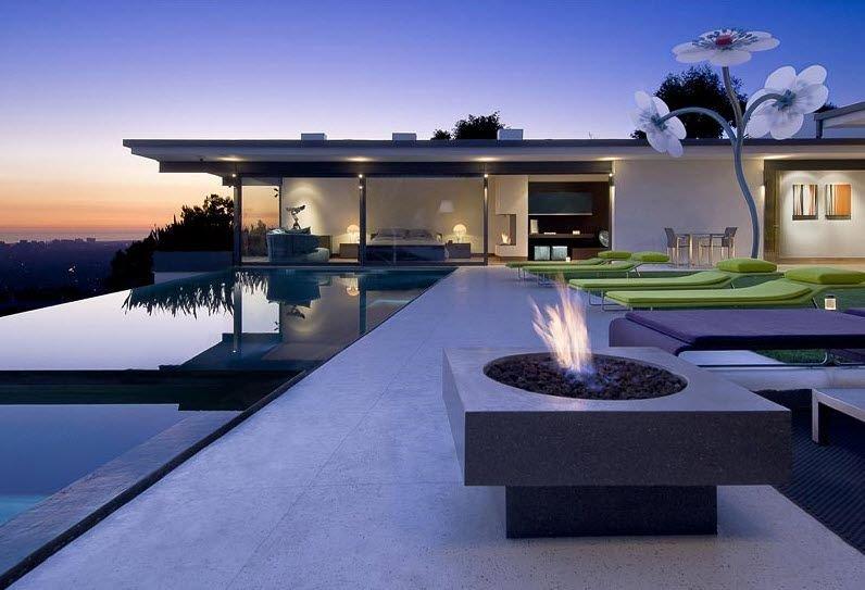 La nueva casa de Matthew Perry en Hollywood Hills Decoracin del hogar