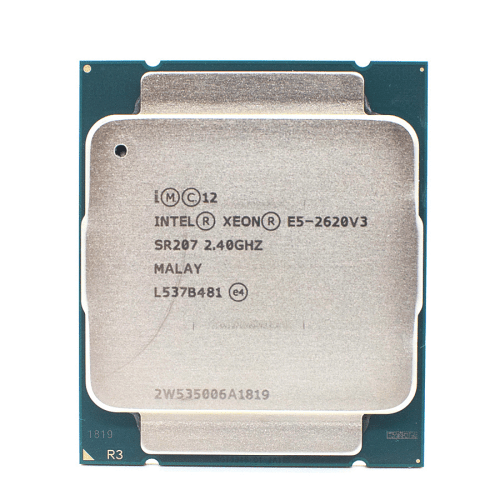 Intel Xeon E5 2620 V3 Processor SR207 2.4Ghz 6 Core 85W Socket LGA 2011-3 CPU