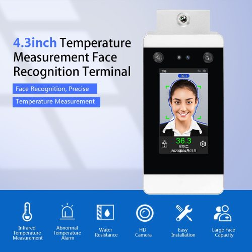 4.3inch Infrared Temperature Measurement Face Dynamic Recognition HD Camera