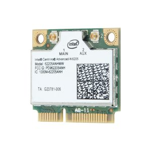 Half Mini PCI-E 300Mbps 2.4/5GHz 802.11n WiFi Card 6205 62205an 62205hmw