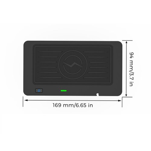 Qi Wireless Mobile Phone Charge Center Console Pad for BMW 3 2019-2020 RightHand