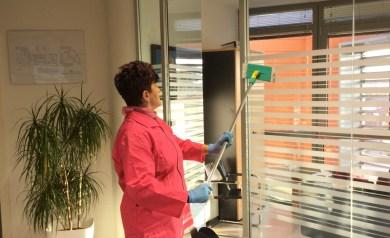 pulizia condomini reggio emilia - vetrate