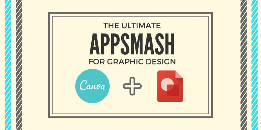 Canva Google Drawing Appsmash I Edu