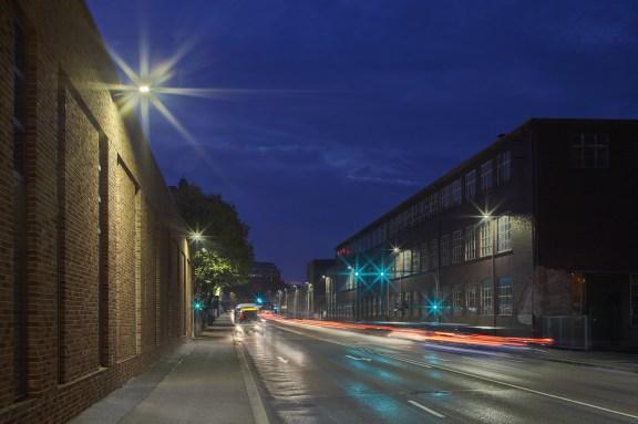 Urba Deco kommt zur dekorativen Platz- und Wegebeleuchtung zum Einsatz. (Photo Credits: Thorn)
