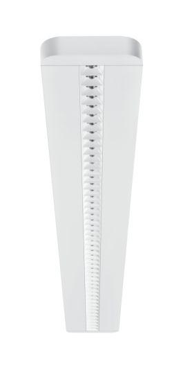 Die hohe Lichtqualität der neuen IndiviLED-Leuchtenfamilie resultiert aus einem speziellen optischen System, das aus lauter kleinen »Licht-Quadraten« besteht. (Bild: Ledvance)