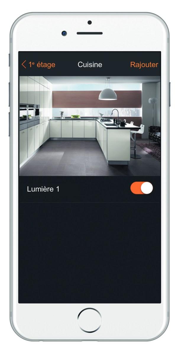 """App """"MyHOME_Up"""": Genial einfach – mit einer einzigen App konfigurieren Sie intuitiv alle Geräte und steuern sämtliche Funktionen. Bild: Legrand"""