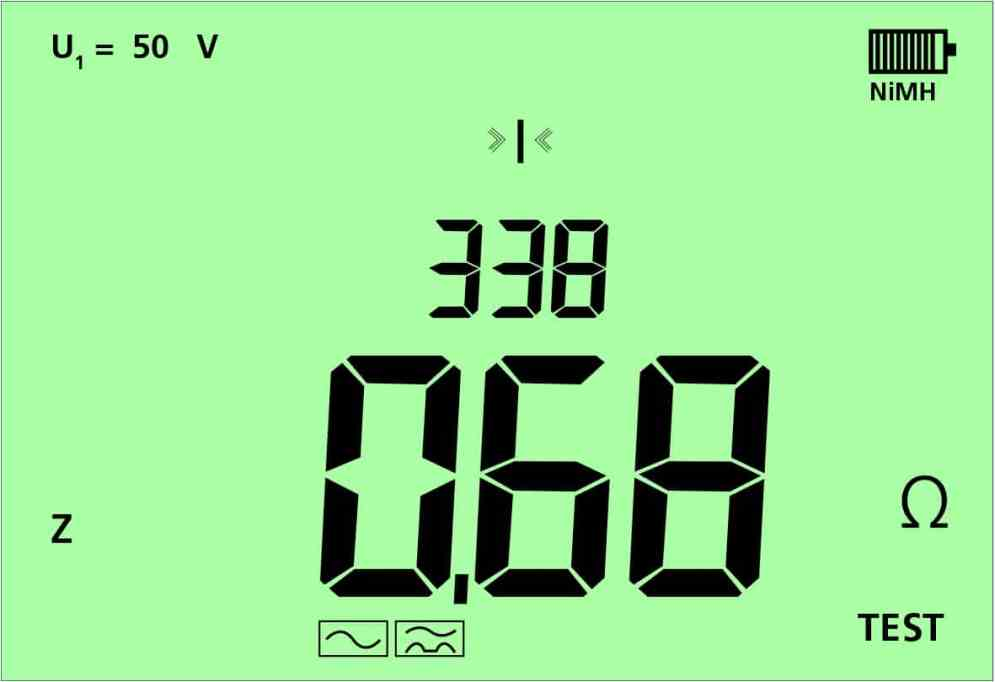 8 Sekunden – und man hat einen hochgenauen Schleifenimpedanzwert.
