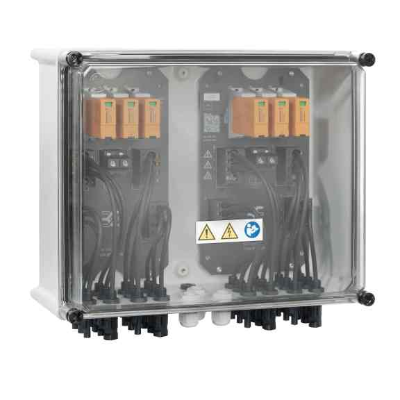 Der Generatoranschlusskasten PV Next wird gemäß IEC 61439 -1 /2 geprüft. (Bild: Weidmüller GmbH)