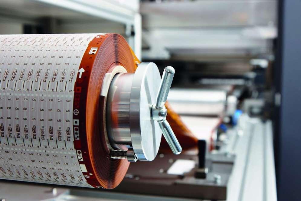 Die Reel-to-Reel Fertigung wurde von Bilton selbst entwickelt und wird stetig ausgebaut. (Bild: Bilton International GmbH)