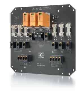 PV Next wird in zwei unterschiedlichen Typen in fünf Varianten offeriert: Der Generatoranschlusskasten mit Sicherung für 1 bis 2 MPPTs oder ohne Sicherungen für 1 bis 3 MPPTs. (Bild: Weidmüller GmbH)
