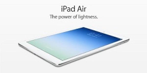 iPad air caratteristiche. Tutto quello che ti serve sapere su iPad Air