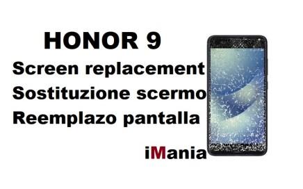 honor 9 sostituzione vetro touch lcd imania riparazioni varese