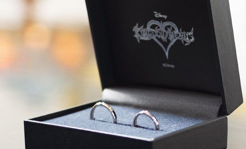 キングダムハーツ結婚指輪