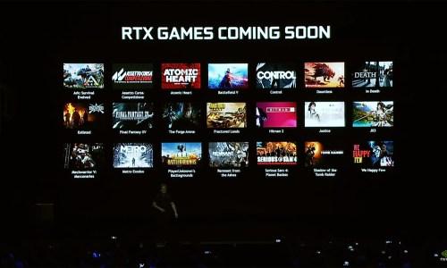 NVIDIA RTX games