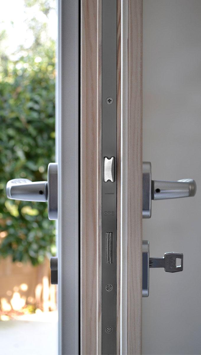 Gamma infissi legno alluminio  sistema misto  I Nobili
