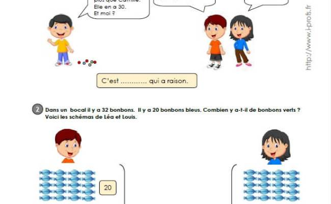Ce1 Cycle2 Exercices Corriges Le Sens De L Addition Et De