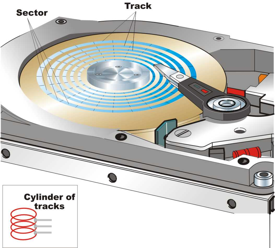 hard drive diagram cytokinesis venn tracks and sectors pictures to pin on pinterest pinsdaddy