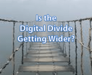 Is the drive for speed actually widening the 'digital divide'?