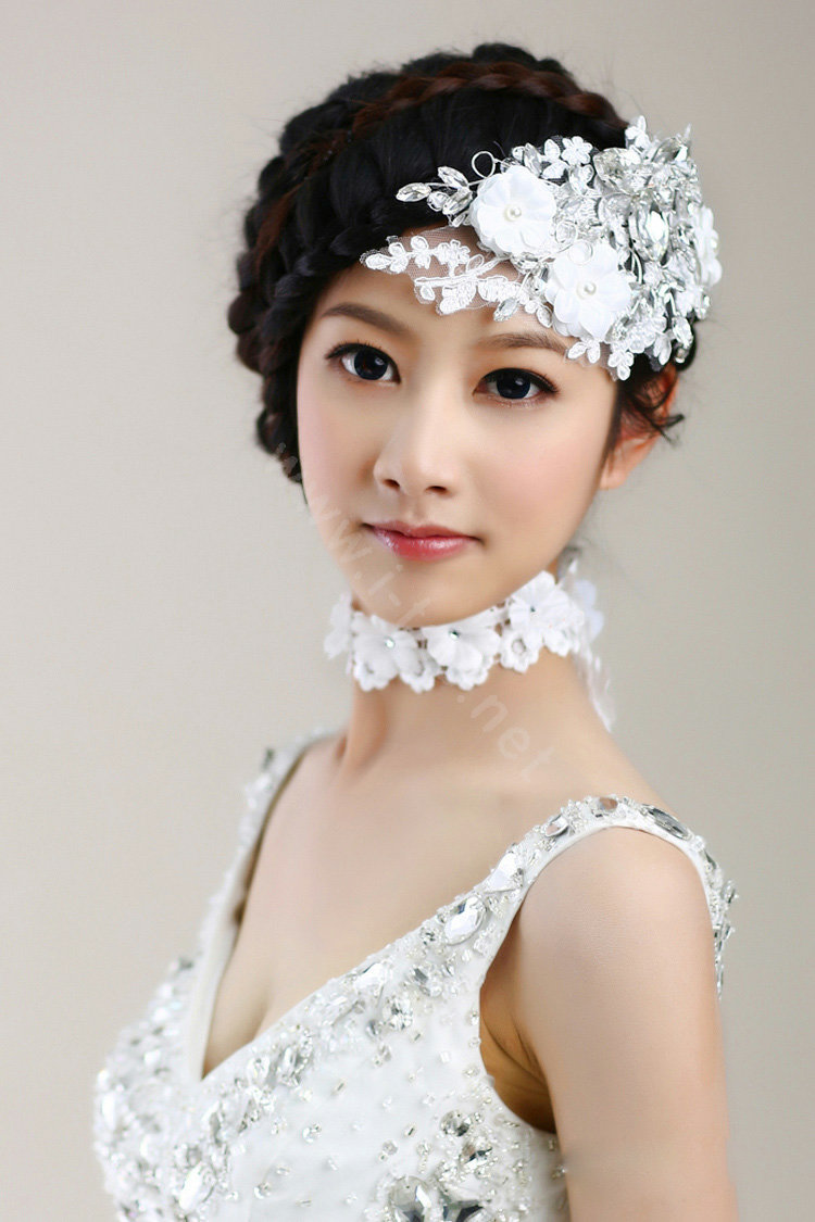 Buy Wholesale Wedding Bride Jewelry Crystal Lace Pearl