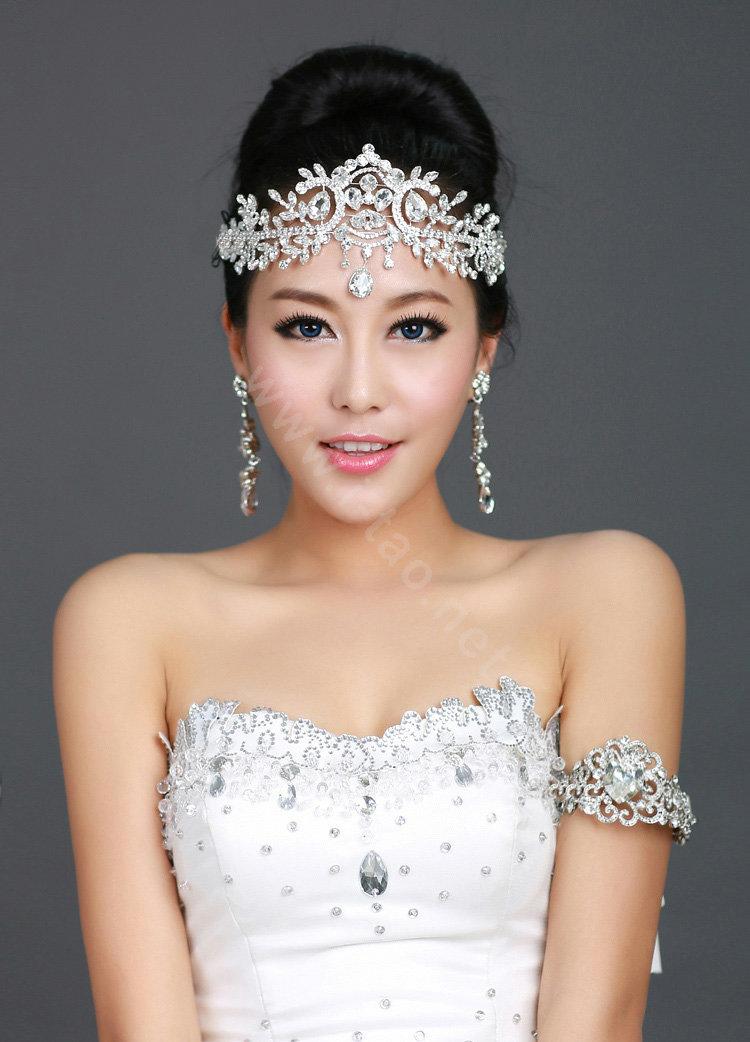 Buy Wholesale Wedding Bride Jewelry Crystal Tiaras Crown