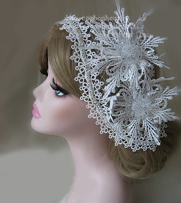 Buy Wholesale New High Quality Mesh Hairwear Crystal Beads