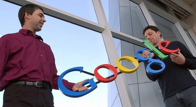 Larry Page e Sergey Brin (Google)