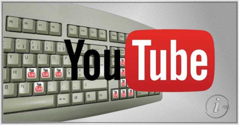 Youtube - Teclas de atalho