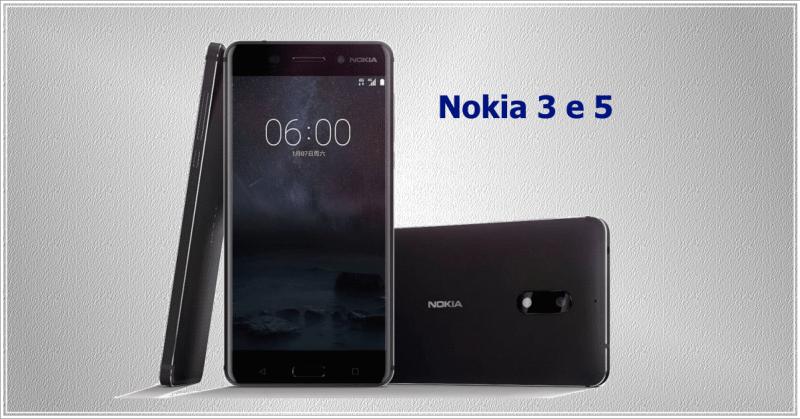Nokia 3 e 5 na MWC