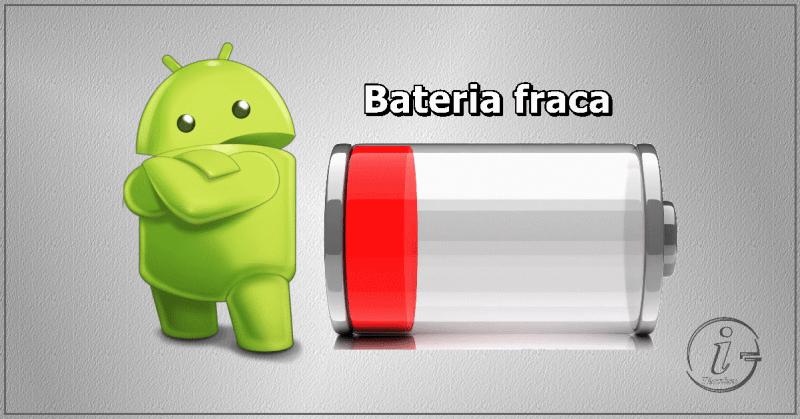 Android - Bateria fraca