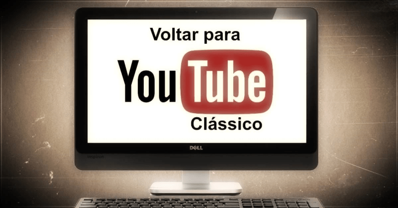YouTube Material Design repor clássico