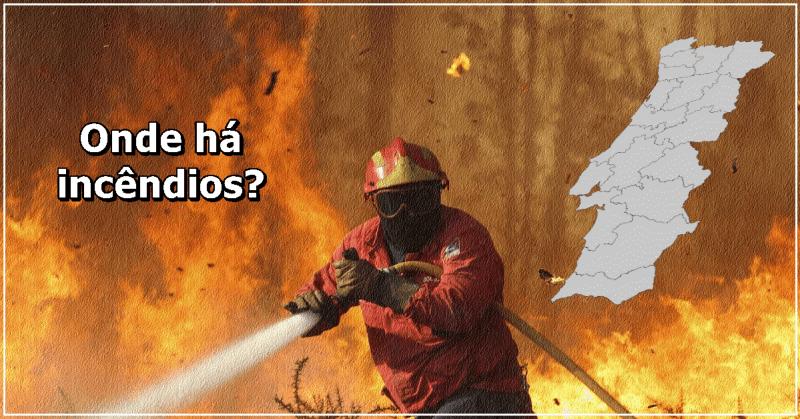 Incêndios Bombeiros Portugal