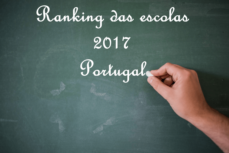 Ranking das escolas 2017 Portugal