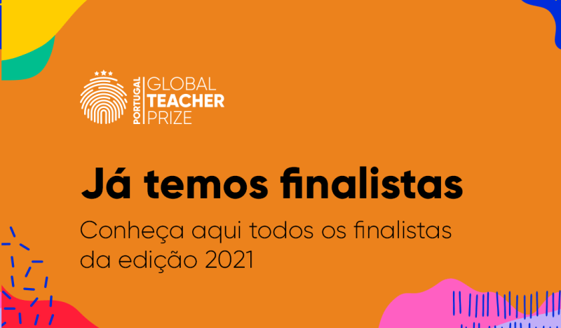 Global Teacher Prize Portugal - Finalistas 2021