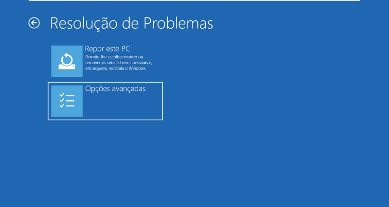 Windows 10 - Reiniciar para a BIOS - UEFI