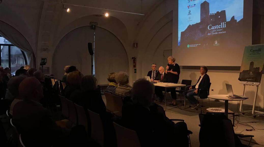 """Conferenza """"I Tesori del Tirolo storico e il progetto """"Le Vie dell'Impero"""", 9 ottobre 2018, Centro Trevi, Bolzano"""