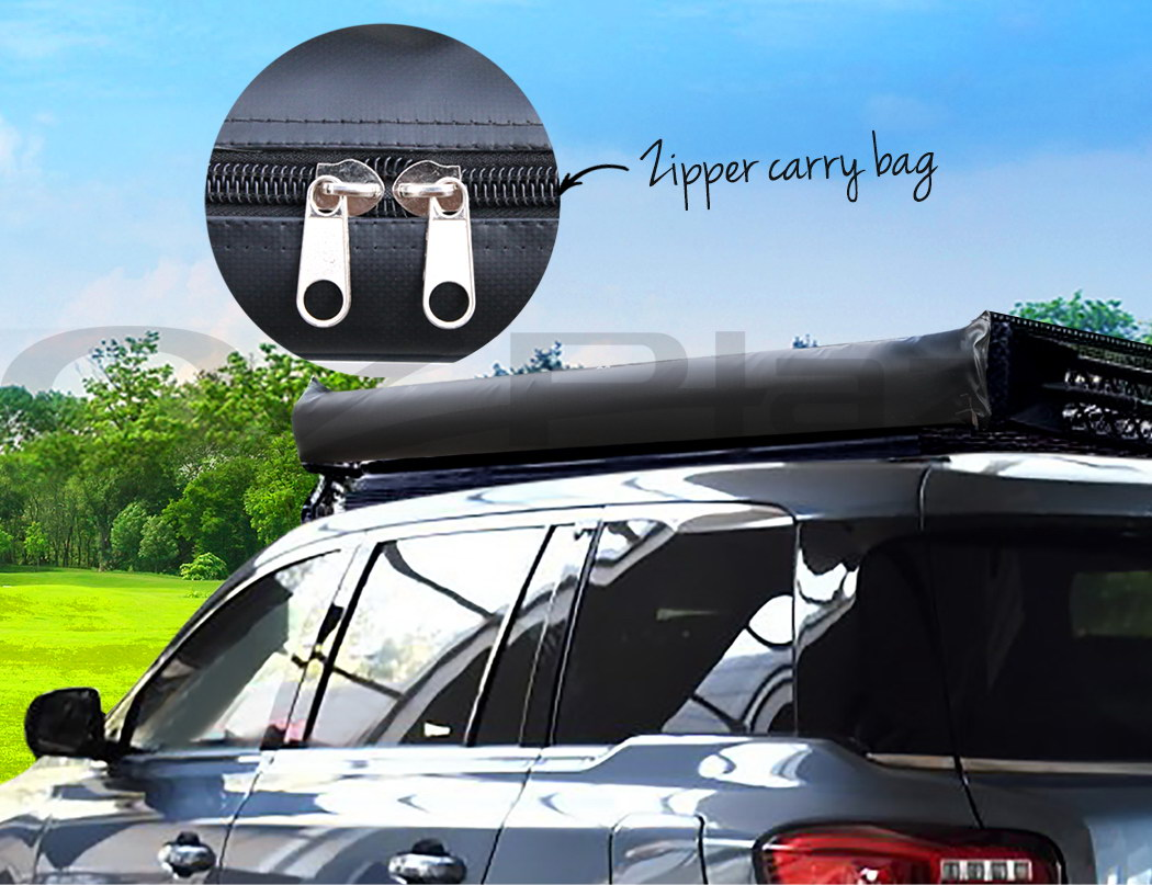 Weisshorn 3mx3m Car Side Awning Roof Rack Cover Tent Shade