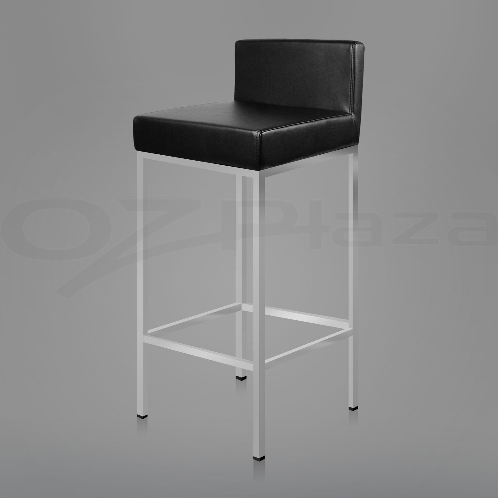 bar stool chair legs office desk chairs target 2x pu leather modern kitchen barstool