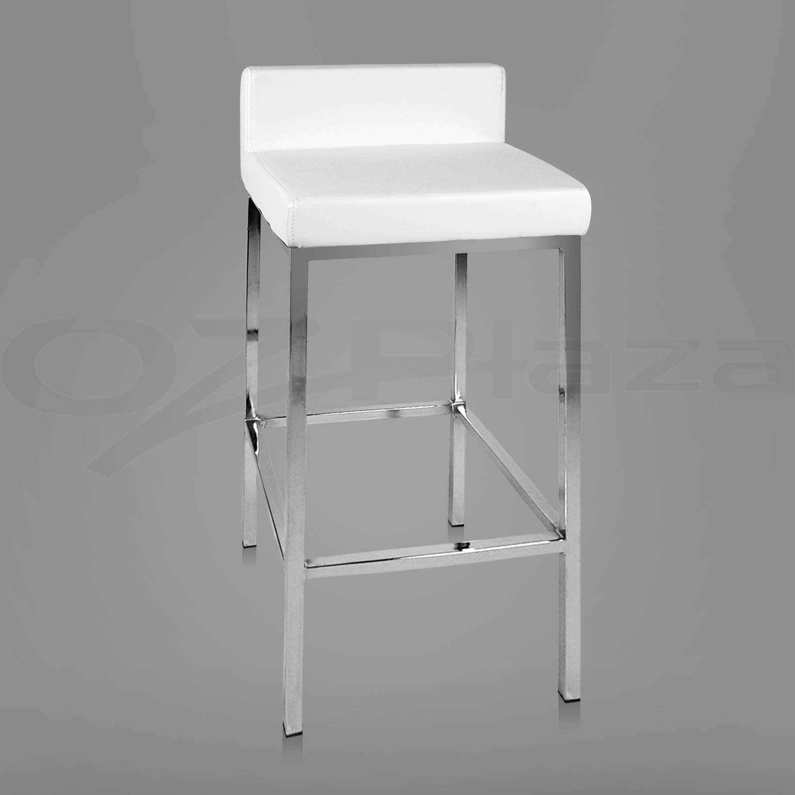 bar stool chair legs director covers target australia 4x pu leather modern kitchen barstool