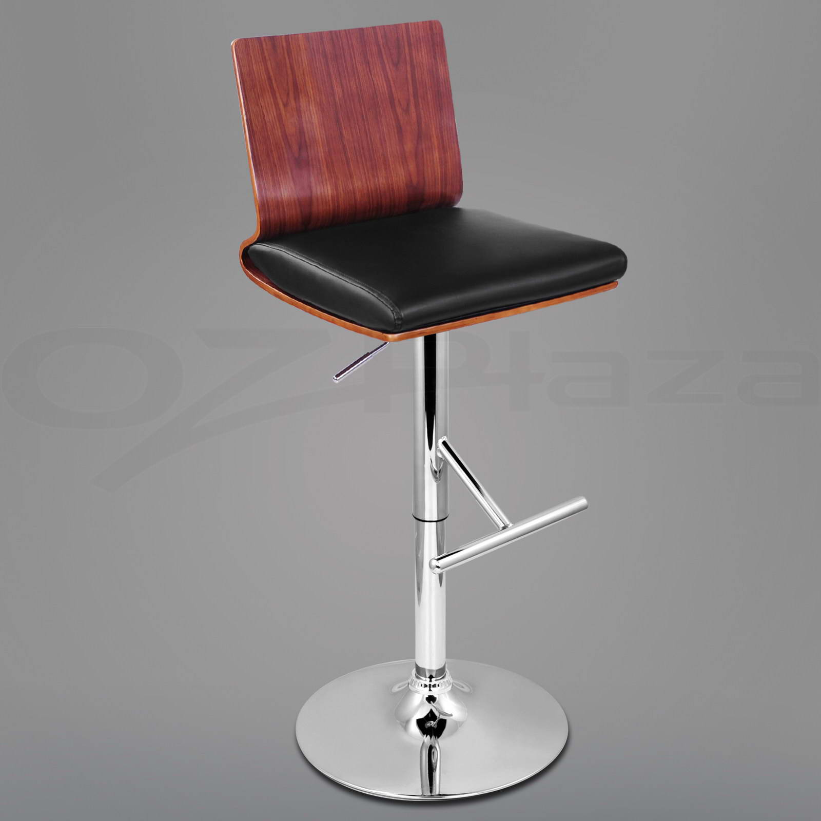 chair plus stool how to recover cushion 4x wooden bar kitchen dining swivel barstool