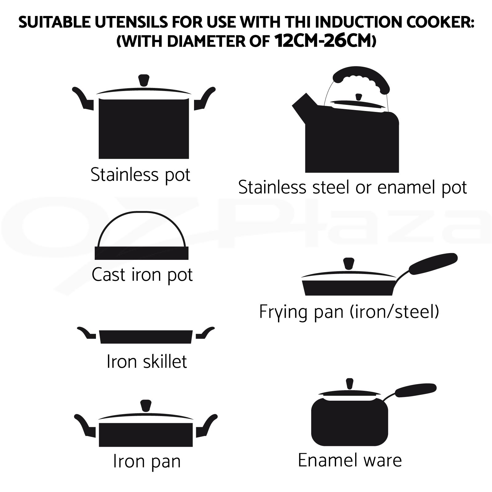 5 Star Chef Electric Induction Cooktop Portable Kitchen